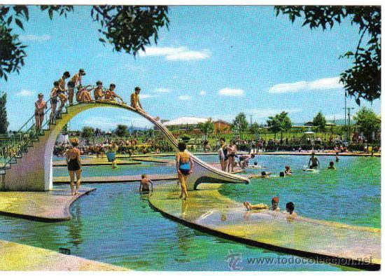 Vitoria 20 gamarra piscina comprar postales del pa s for Cuando abren las piscinas