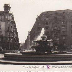 Postales: PS0165 BILBAO 'PLAZA DE FEDERICO MOYUA'. P. M. CIRCULADA EN 1951. Lote 13692199