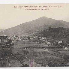 Postales: VIZCAYA. VALMASEDA. VISTA GENERAL. COLECCION ACADEMIA DE CABALLERIA. MARCHAS DE 1909. PHG. Lote 205595143