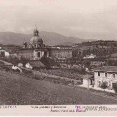 Postales: ANTIGUA POSTAL : SANTUARIO DE LOYOLA - VISTA PARCIAL Y ESTACIÓN. MANIPEL Nº142205. Lote 13891811