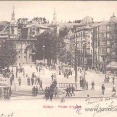Postales: BILBAO- PASEO ARENAL. Lote 13987595