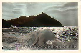 POSTAL DE SAN SEBASTIAN- EFECTOS DEL SOL (Postales - España - País Vasco Moderna (desde 1940))