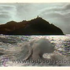 Postales: POSTAL DE SAN SEBASTIAN- EFECTOS DEL SOL. Lote 14158832