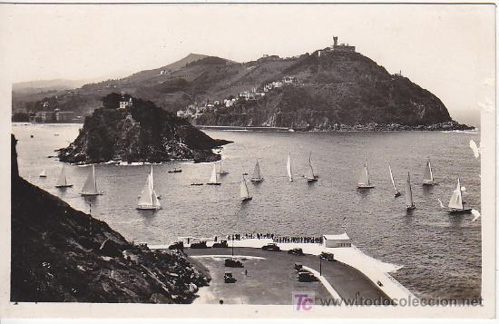 PS2528 SAN SEBASTIÁN 'VISTA DESDE EL MONTE URGULL'. FOTO GALARZA. SIN CIRCULAR (Postales - España - País Vasco Moderna (desde 1940))