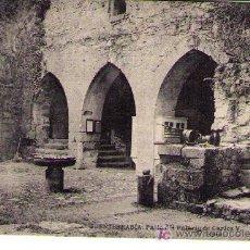 Postales: FUENTERRABÍA.-PATIO DEL PALACIO DE CARLOS V. FRANQUEADO Y FECHADO 19-SEPTIEMBRE 1919. Lote 14307929