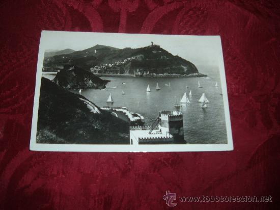 SAN SEBASTIAN VISTA DESDE EL MONTE URGULL ,FOTO GALARZA (Postales - España - País Vasco Moderna (desde 1940))