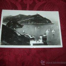 Postales: SAN SEBASTIAN VISTA DESDE EL MONTE URGULL ,FOTO GALARZA. Lote 14849271