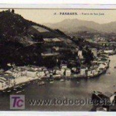 Postales: PASAGES. PASAJES. GUIPUZCOA. 58. PUERTO DE SAN JUAN. ED G. GALARZA. SIN CIRCULAR.. Lote 14946437