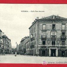 Postales: VITORIA , ALAVA , CALLE DE SAN ANTONIO , P40439. Lote 15032195