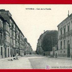 Postales: VITORIA , ALAVA , CALLE DE LA FLORIDA , P40440. Lote 15032204