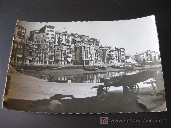 POSTAL FOTOGRAFICA CON VISTA PARCIAL DE BERMEO - VIZCAYA - EDICIONES MAITE BILBAO (Postales - España - País Vasco Moderna (desde 1940))
