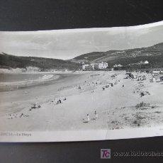 Postales: POSTAL FOTOGRAFICA DE PLENCIA VIZCAYA- LA PLAYA. Lote 20699259