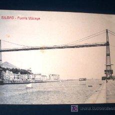 Postales: POSTAL ANTIGUA BILBAO REAL SPORTING CLUB. LIBRERÍA ELCANO. . Lote 27461497