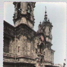 Postales: SAN SEBASTIÁN.-IGLESIA DE SANTA MARÍA. FRANQUEADA Y FECHADA EN 1950.. Lote 15432044