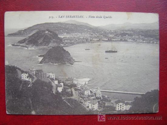 SAN SEBASTIAN (Postales - España - Pais Vasco Antigua (hasta 1939))