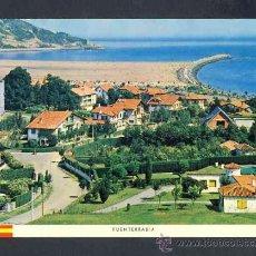 Postales: POSTAL DE FUENTERRABIA (GUIPUZCOA): VISTA PARCIAL Y PLAYA (ED.NAYLLA). Lote 15562249