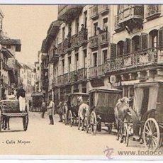 Postales: POSTAL DE IRUN - CALLE MAYOR, EDIT, E.J.G. POSTAL SIN CIRCULAR, NUEVA. Lote 26737808