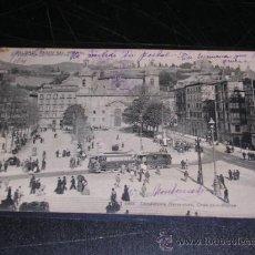 Postales: BILBAO , PASEO DEL ARENAL ( TRANVIA ) 1062 LANDABURU HERMANAS, BILBAO, CIRCULADA 1906. Lote 15992631