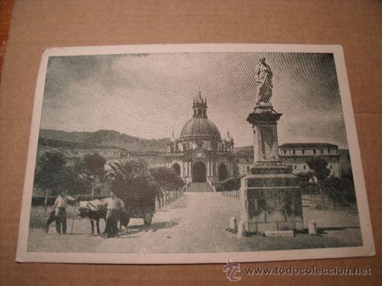 ANTIGUA POSTAL DEL SANTUARIO DE LOYOLA, VISTA GENERAL. CIRCULADA SIN SELLO, AÑO 1948. POSTAL 423 (Postales - España - País Vasco Moderna (desde 1940))