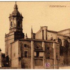 Postales: BONITA POSTAL - FUENTERRABIA (GUIPUZCOA) - LA IGLESIA - (LA ESPAÑOLA). Lote 16034041