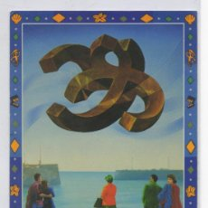 Postales: TARJETA POSTAL DEL 38 FESTIVAL DE CINE INTERNACIONAL DE SAN SEBASTIAN 1990 GUIPUZCOA . Lote 16075772