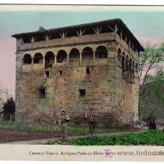 Postales: PRECIOSA POSTAL - CASERIO VASCO - ANTIGUO PALACIO MONCHARAS . Lote 18488473