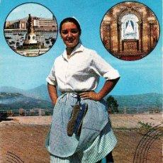 Postales: VIZCAYA.- DESDE SANTURCE A BILBAO.... AÑO 1971. Lote 16371870
