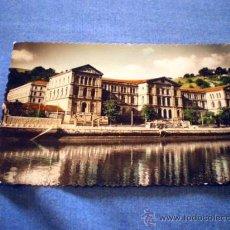 Postales: POSTAL BILBAO UNIVERSIDAD DE DEUSTO 1958 CIRCULADA. Lote 16414312