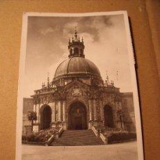 Postales: ANTIGUA POSTAL DE LA ENTRADA DEL SANTUARIO DE LOYOLA. CIRCULADA AÑO 1957. POSTAL 316. Lote 16529212