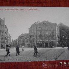 Postales: VITORIA - PLAZA DEL GENERAL Y CALLE SAN ANTONIO. Lote 16535162