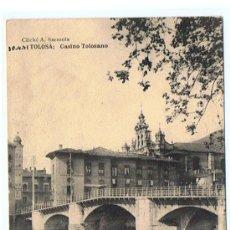 Postales: POSTAL DE TOLOSA, EDIT. HAUSER Y MANET, SIN CIRCULAR, NUEVA, MUY ANTIGUA ENTRE 1905 - 1915 . Lote 26601068
