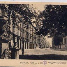 Postales: VITORIA(ÁLAVA).-CALLE DE LA FLORIDA. Lote 16673734