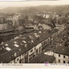 Postales: INTERESANTE POSTAL - BILBAO - VISTA PARCIAL . Lote 24601472