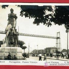 Postales: PORTUGALETE, BILBAO, PUENTE VIZCAYA, P34058. Lote 16939108