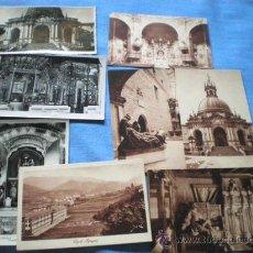 Postales: IMPORTANTE LOTE 8 POSTALES ANTIGUAS SANTUARIO LOYOLA . Lote 25855124