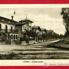 Postales: VITORIA, ALAVA, CIUDAD JARDIN, P34267. Lote 17040122