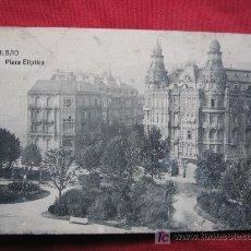 Postales: BILBAO - PLAZA ELIPTICA. Lote 17173593