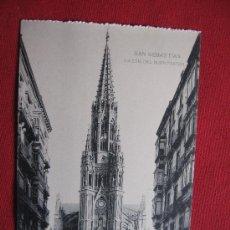 Postales: SAN SEBASTIAN - IGLESIA DEL BUEN PASTOR. Lote 17113288