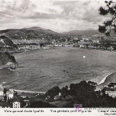 Postales: SAN SEBASTIAN - VISTA GENERAL DESDE IGUELDO - MANIPEL -. Lote 17466168