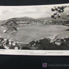 Postales: VISTA GENERAL DESDE IGUELDO - SAN SEBASTIAN - . Lote 17196791