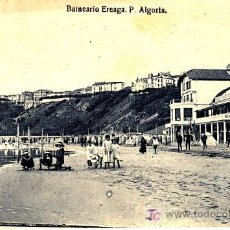 Postales: PS0158 BILBAO 'BALNEARIO EREAGA. P. ALGORTA'. EDICIÓN LG. SIN CIRCULAR. Lote 17211200