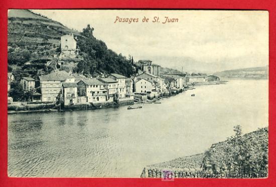 PASAJES, GUIPUZCOA, PASAJES DE SAN JUAN, P35126 (Postales - España - Pais Vasco Antigua (hasta 1939))