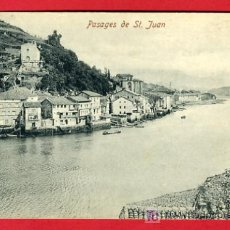 Postales: PASAJES, GUIPUZCOA, PASAJES DE SAN JUAN, P35126. Lote 17215893