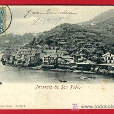 Postales: PASAJES, GUIPUZCOA, PASAJES DE SAN PEDRO, P35127. Lote 17215920