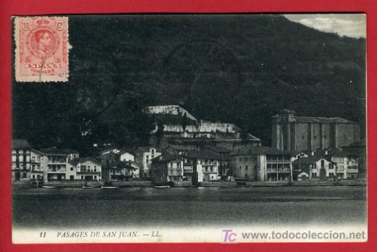 PASAJES, GUIPUZCOA, PASAJES DE SAN JUAN, P35130 (Postales - España - Pais Vasco Antigua (hasta 1939))