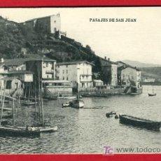Postales: PASAJES, GUIPUZCOA, PASAJES DE SAN JUAN, P35132. Lote 17216072