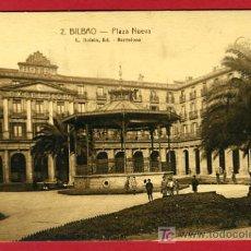 Postales: BILBAO, VIZCAYA, PLAZA NUEVA, P35189. Lote 17217333