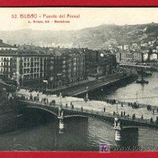 Cartoline: BILBAO, VIZCAYA, PUENTE DEL ARENAL, P35197. Lote 17217570