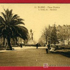 Postales: BILBAO, VIZCAYA, PLAZA ELIPTICA, P35225. Lote 17300177