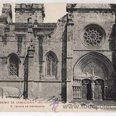 Postales: VIZCAYA. VALMASEDA, IGLESIA. COLECCION ACADEMIA CABALLERIA. MARCHAS 1909. PHG. VALLADOLID. Lote 205595063